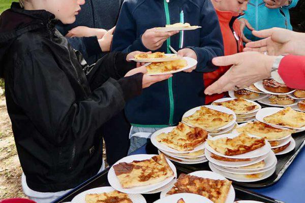 Midsommarfest på Hörbergsgården